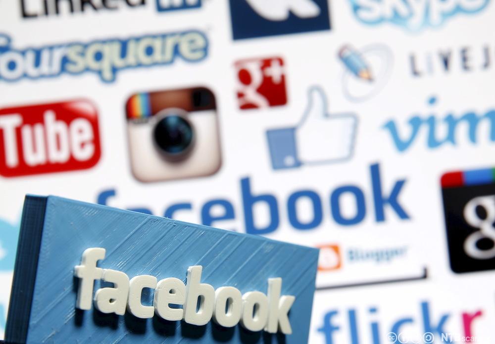 Logoer av sosiale medier. Foto.
