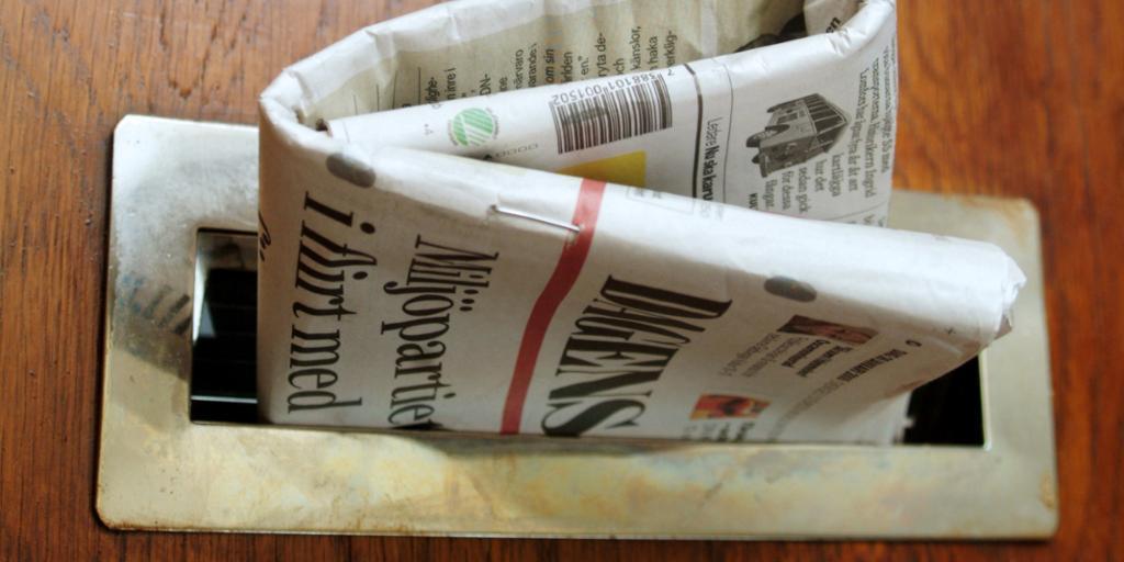 Avis i dørsprekk