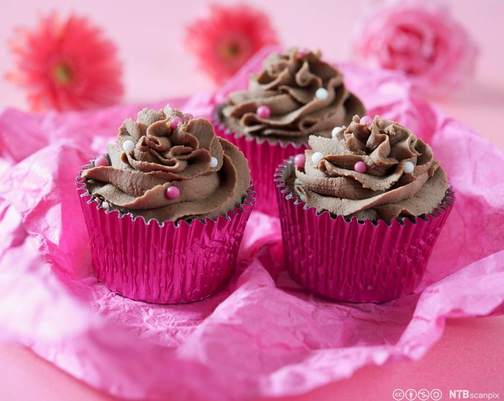 Cupcakes. Foto.