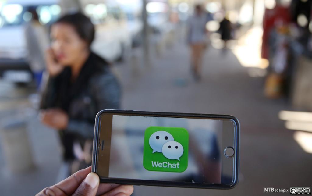 WeChat på mobil