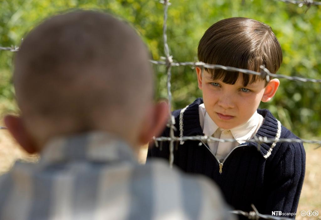 "A scene from the movie ""The boy in the striped pyjamas"""