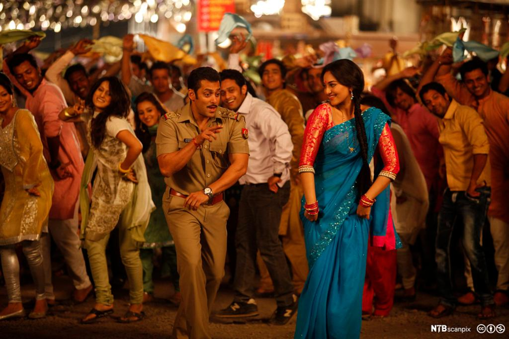 """A scene from the Bollywood movie """"Dabangg 2"""""""