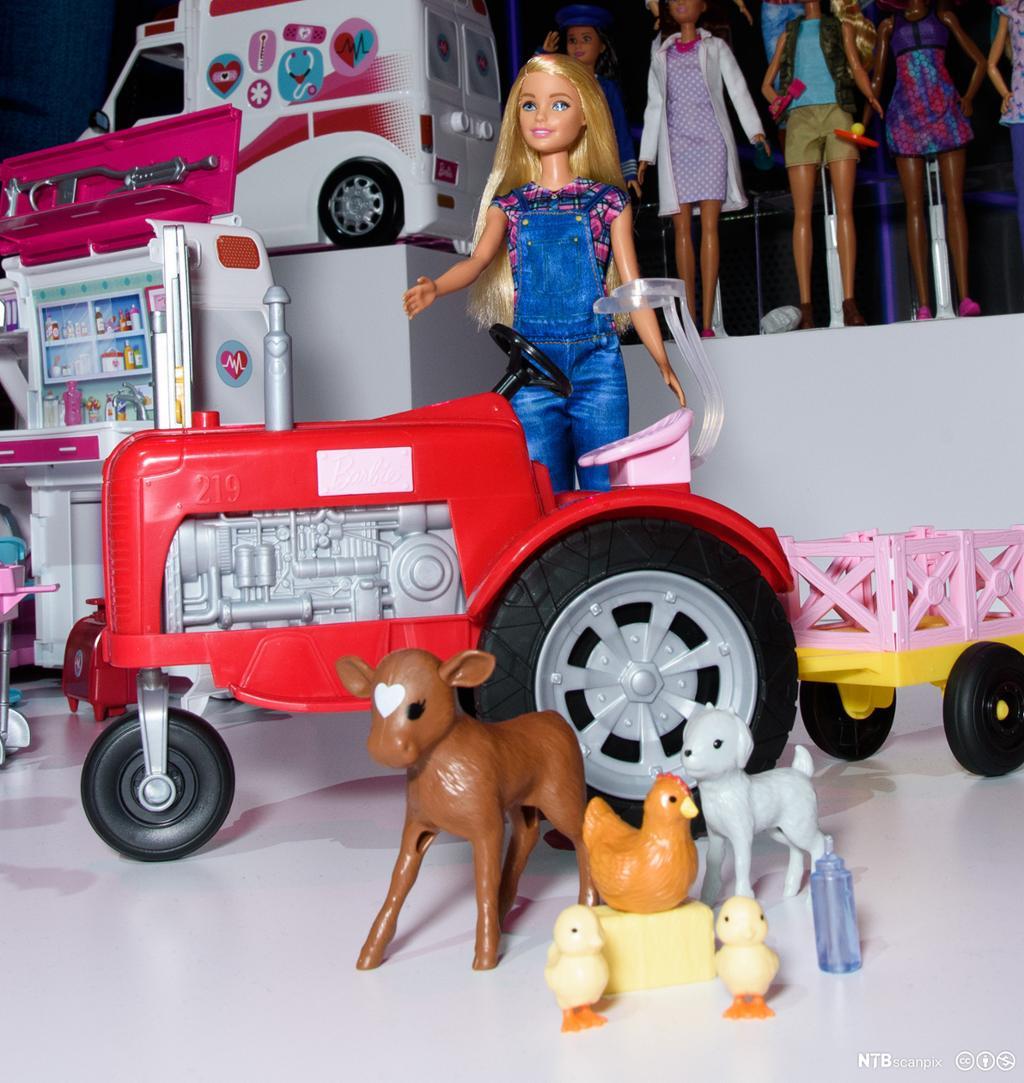 New York Toy Fair. Barbiedukke. Foto