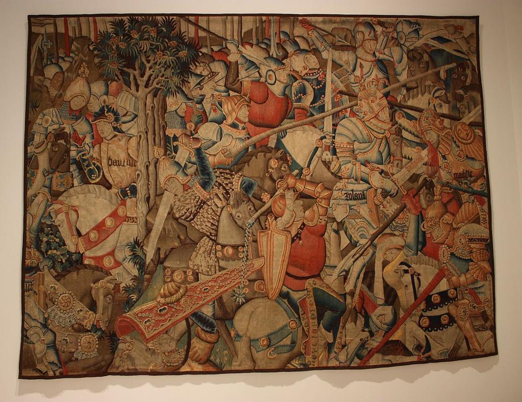 Roalndskvadet - manuskript fra 14-tallet