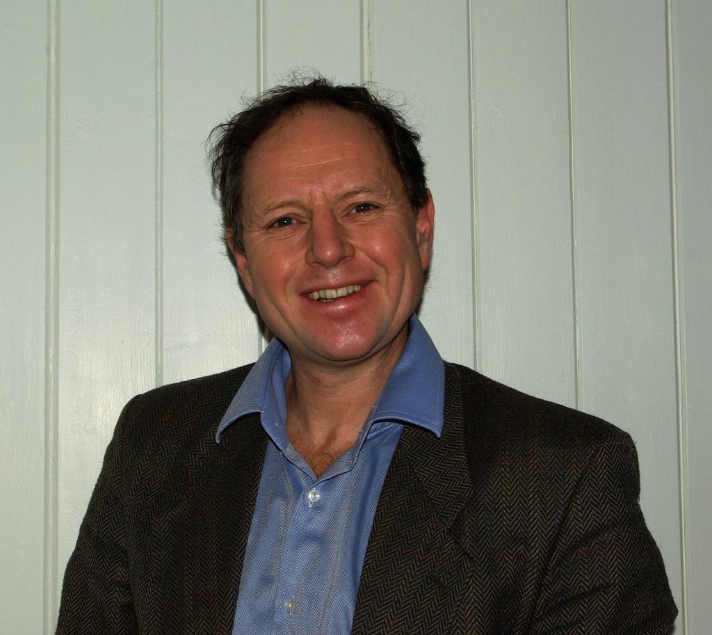 Portrett av fagforfatteren Thomas Cottis. Foto.