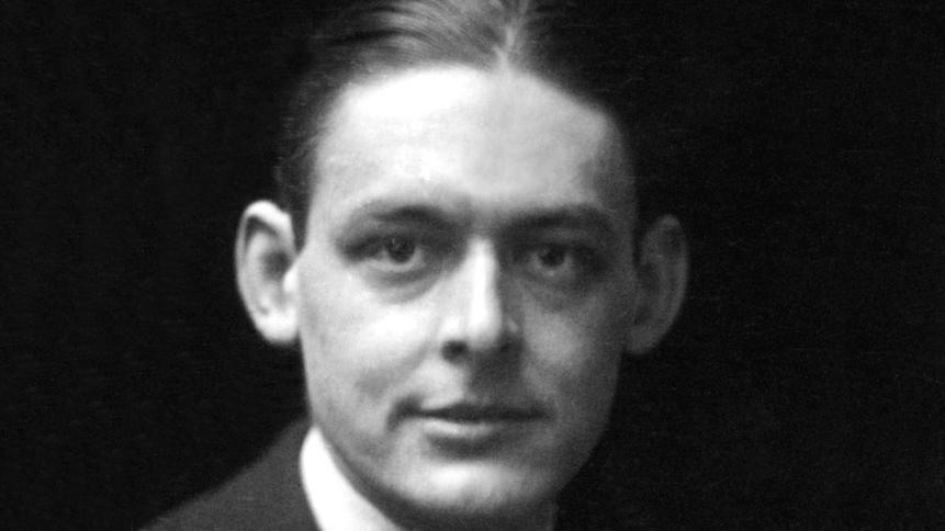 Thomas Stearns Eliot. Foto.