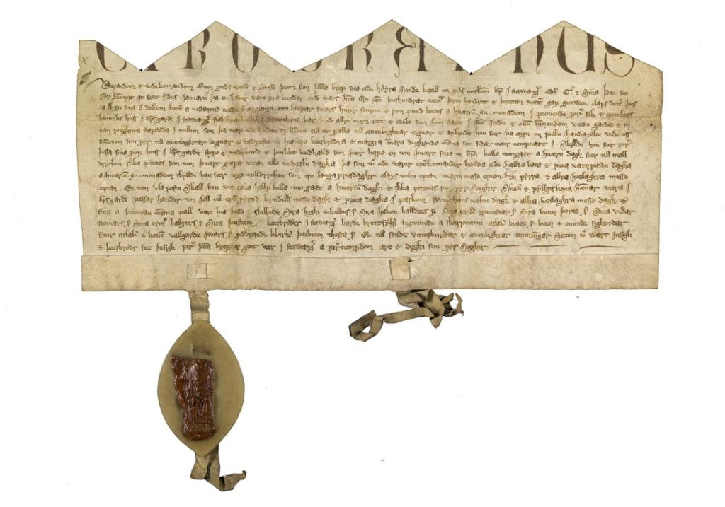 En ekte avtale datert 1313