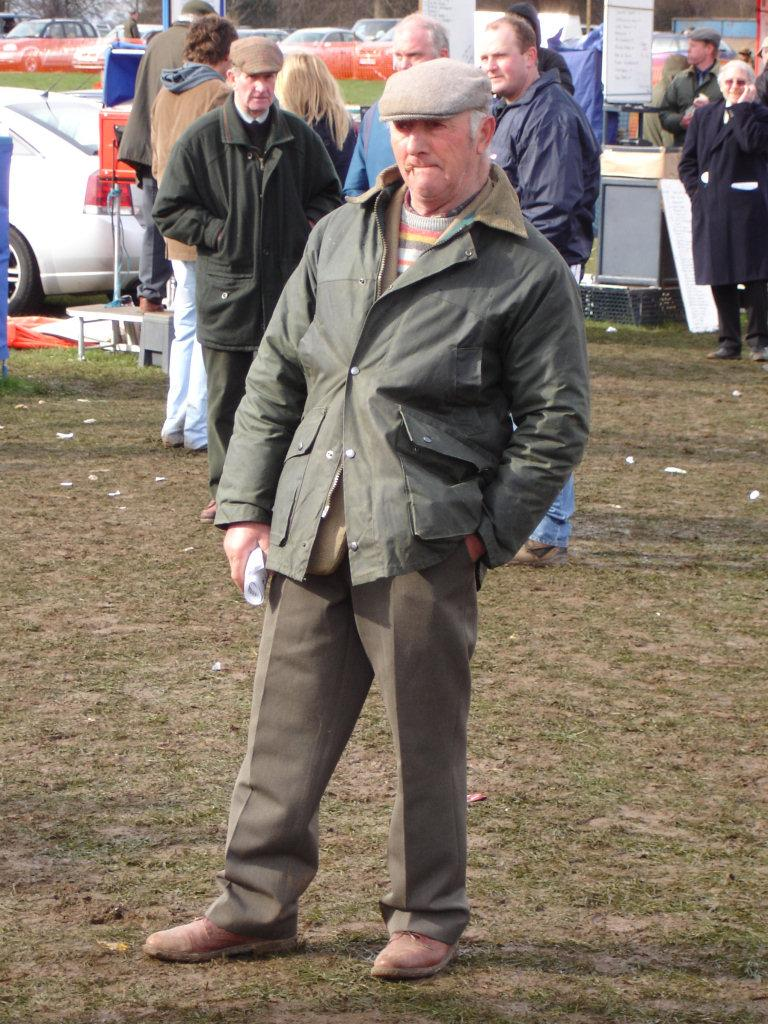 Example of a Typical Yorkshire Man. Photo.