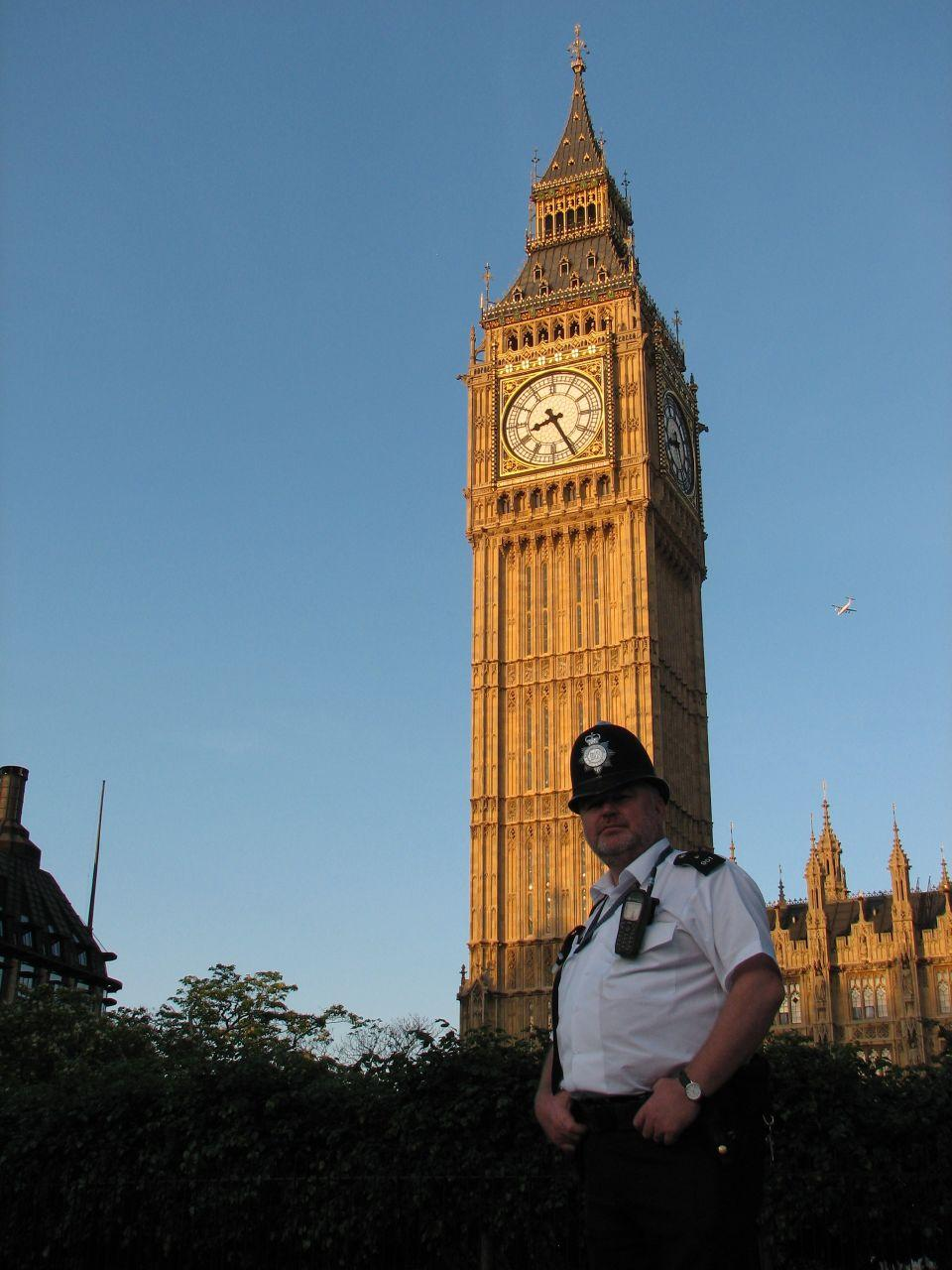 Big Ben in London. Photo.
