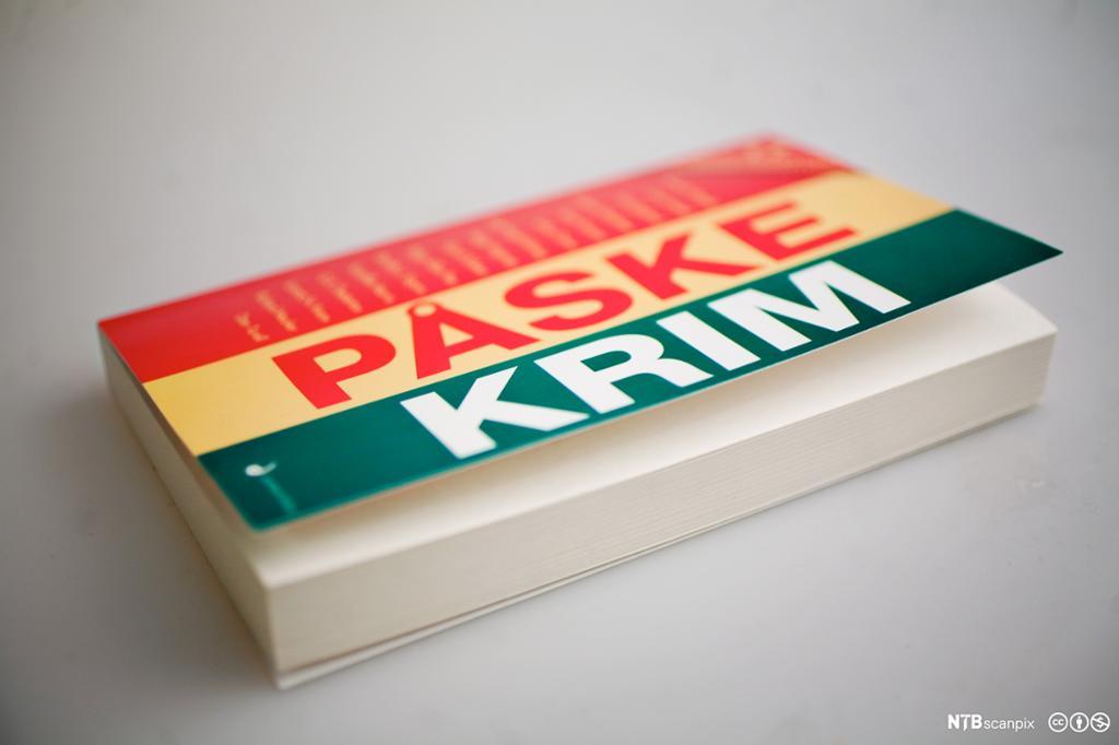 Novellesamlingen 'Påskekrim' utgitt på Juritzen Forlag. Foto.