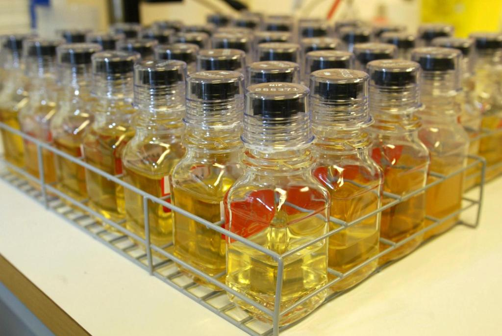 Urinprøver fra idrettsutøvere
