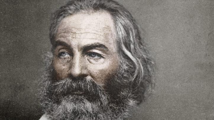 Walt Whitman. Foto.