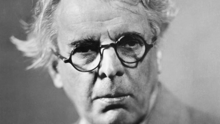 William Butler Yeats. Foto.
